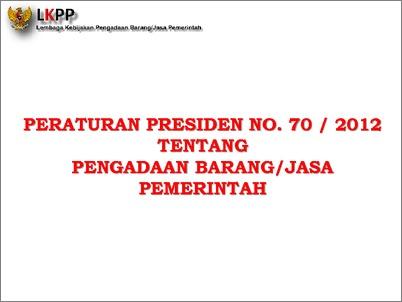 70 pdf perpres 2012